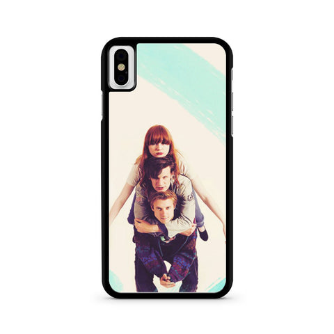 The Doctor Who Amy Pond Rory Williams iPhone X case