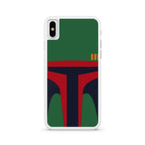 Intergalactic Bounty Hunter iPhone X case