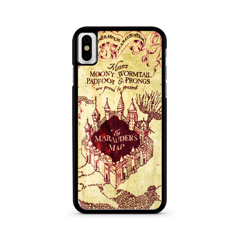 Marauder's Map Harry Potter iPhone X case