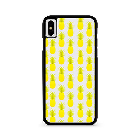 Pineapples Summer iPhone X case