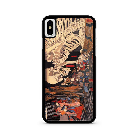 The Witch And The Skeleton Spectre iPhone X case