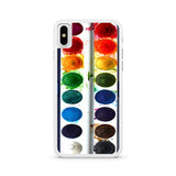 Watercolor Set iPhone X case