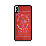 Sriracha Hot Sauce iPhone X case