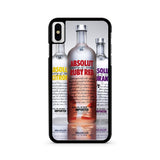Absolut Vodka Sortiments iPhone X case