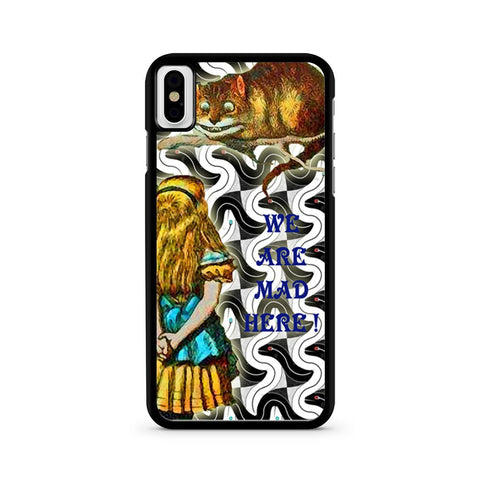 Alice And The Cheshire iPhone X case