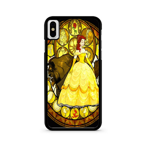 Disney Beauty And The Beast iPhone X case