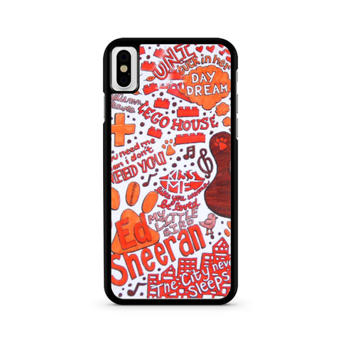 Ed Sheeran iPhone X case