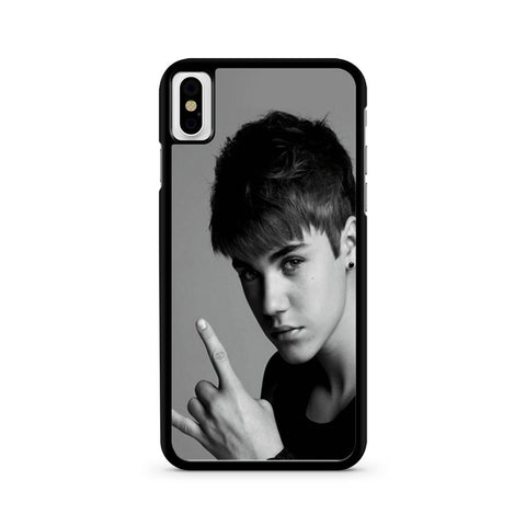 Justin Bieber Cool Photos iPhone X case
