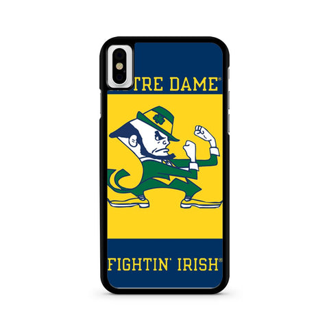 Notre Dame Fighting Irish iPhone X case