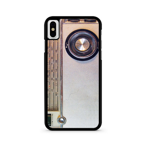 Radio iPhone X case