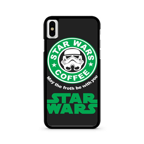 Star Wars Coffee iPhone X case