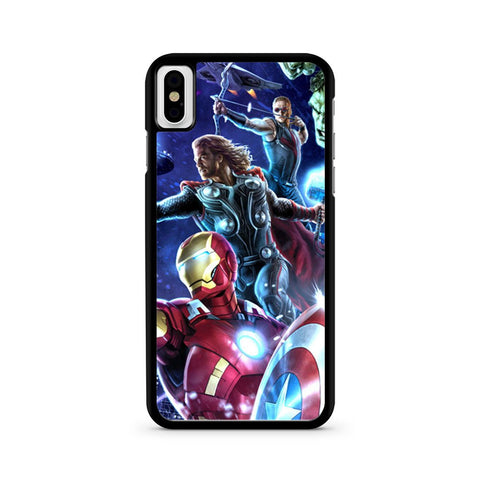 Avengers iPhone X case