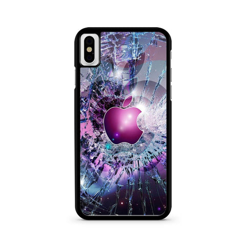 Cracked Out iPhone X case