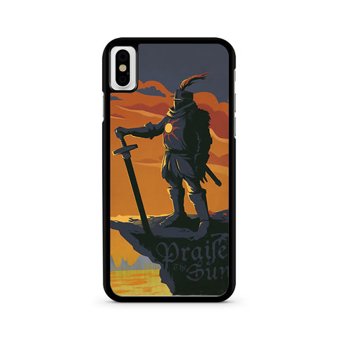 Dark Souls Solaire Of Astora iPhone X case