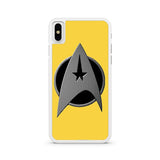 Gold Star Trek Logo iPhone X case