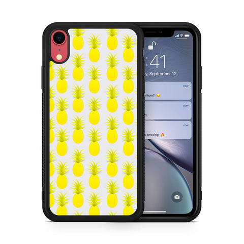 Pineapples Summer iPhone XR case