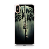 Walking Dead Don't Open Dead Inside iPhone XS/XS Max case