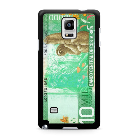 10 Million Colones Sloth Samsung Galaxy Note 4 case