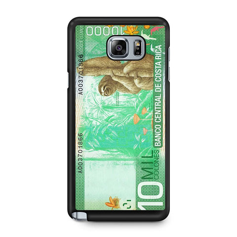 10 Million Colones Sloth Samsung Galaxy Note 5 case