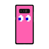 Pink Pacman inspired Samsung Galaxy Note 8 case
