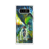 Rain Road Painting Samsung Galaxy Note 8 case