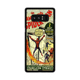 Spiderman Comic Samsung Galaxy Note 8 case