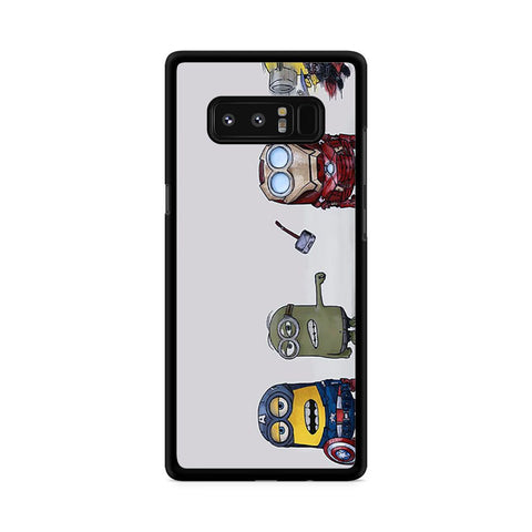 Minions Avenger Samsung Galaxy Note 8 case