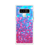 Purple Blue Faux Glitter Samsung Galaxy Note 8 case