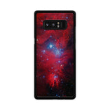 Red Galaxy Nebula Samsung Galaxy Note 8 case