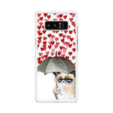Grumpy Cat Umbrella Samsung Galaxy Note 8 case
