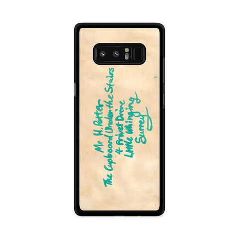Harry Potter Hogwarts Letter Samsung Galaxy Note 8 case