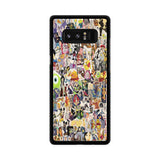 Disney Collage Art Samsung Galaxy Note 8 case