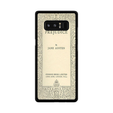 Jane Austen Cover Book Pride and Prejudice Samsung Galaxy Note 8 case