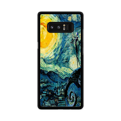 Starry Nightmare Before Christmas Samsung Galaxy Note 8 case