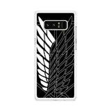 Attack on Titan Scouting Legion Samsung Galaxy Note 8 case