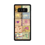 Disney Princess Poster Samsung Galaxy Note 8 case