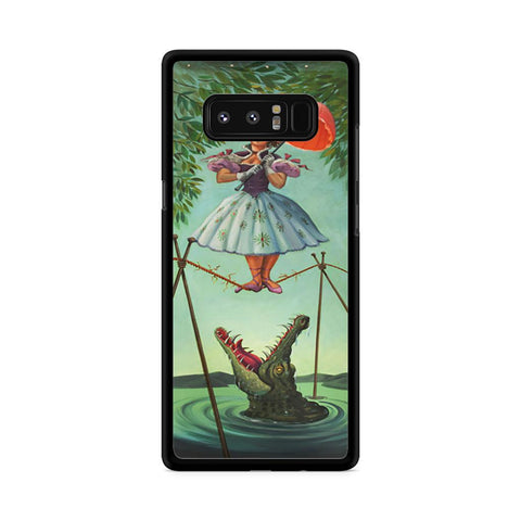 Haunted Mansion Stretching Samsung Galaxy Note 8 case