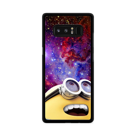 Minion Look Galaxy Nebula Samsung Galaxy Note 8 case