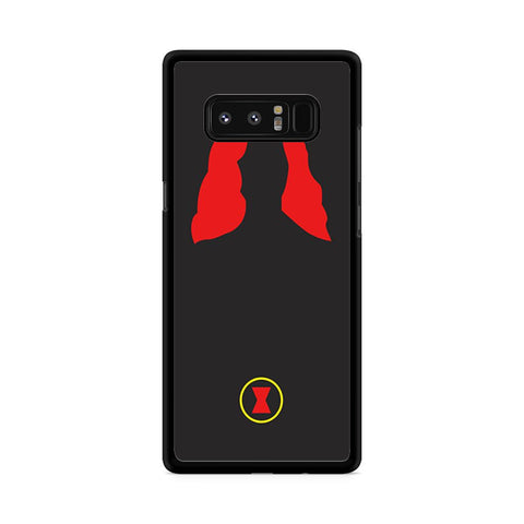 Black Widow The Avengers Samsung Galaxy Note 8 case