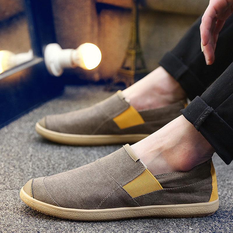 Men's Soft Splicing Flat Shoes
