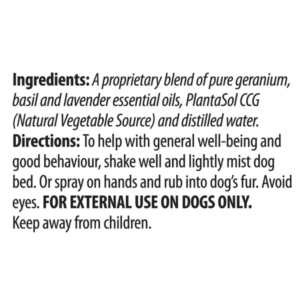 Good Dog Essential Oil Spray 100ml
