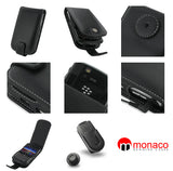 Bold 9650 Monaco Flip Type Leather Case - Black