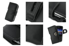 Bold 9650 Monaco Horizontal Pouch Type Leather Case - Black