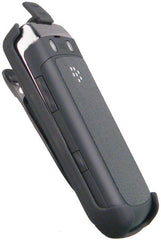 BlackBerry Bold 9700 Rubberized Face-in Elite Holster with Sleeper Function - Black