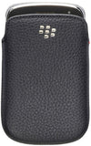 BlackBerry Bold 9900 9930 Leather Pocket Case - Black Original