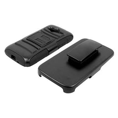 Samsung Galaxy Light Hybrid Combo Case with Belt Holster