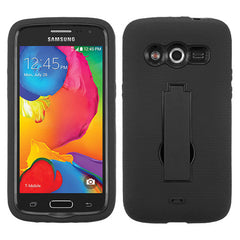 Samsung Avant Hybrid Rugged Two Ply Case With Kickstand