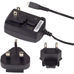 BlackBerry Micro-USB Travel Charger with Global Adapter Clips