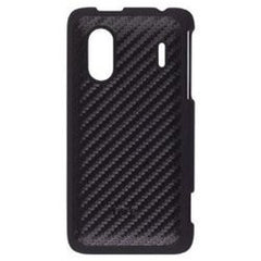 HTC EVO Design 4G Hard Shell Case - Black with Carbon Fiber Original OEM