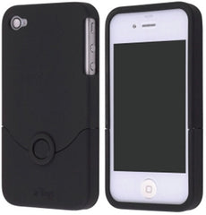 iFrogz Apple iPhone 4 Luxe Case - Black Original (OEM) IP4GLO-BLK